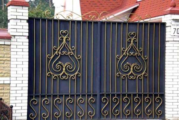 Кован ворота хвртки Фото ескзи для майстрв