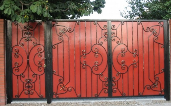 Кован ворота фото ескзи де Ремонт та вироби