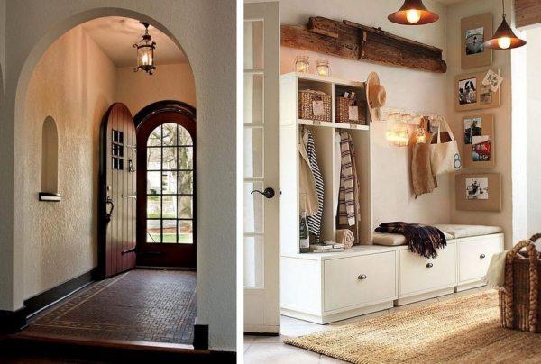 Дизайн прихожей в частном доме: фото-идеи