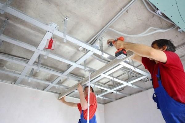 Навесные потолки: фото традиционных и дизайнерских решений