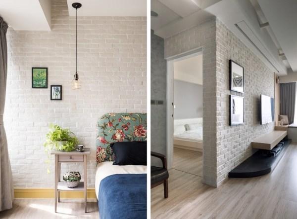 Обои под кирпич и каменную кладку: интересный подход к дизайну