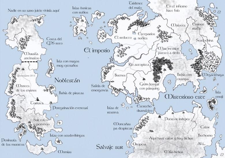 Mapa-Fantasia