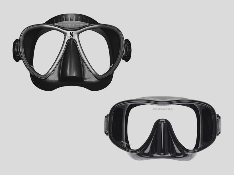 Scuba pro dive masks