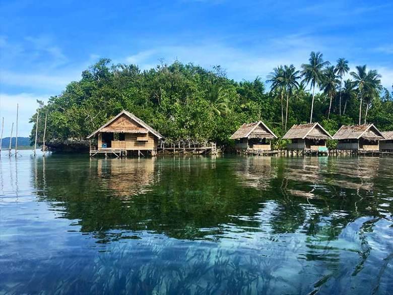 Raja Ampat Beser Bay homestay overwater bungalow