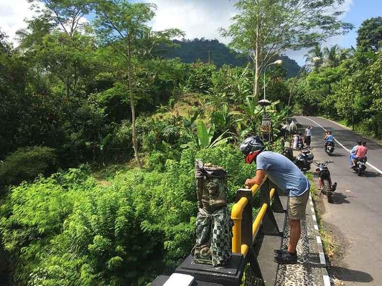Scenic drive Sidemen motorbike trip Bali
