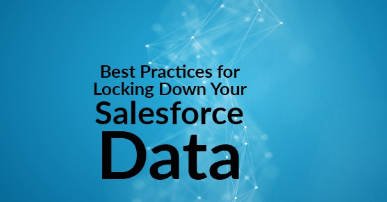 Best Practices for Locking Down Your Salesforce Data
