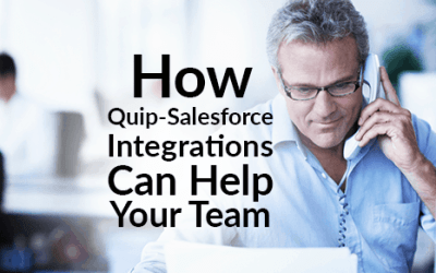 How Quip-Salesforce Integrations Can Help Your Team