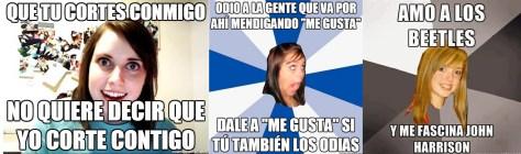 Memes extraídos de CuántoCabrón (izquierda y centro) y MEMEando (derecha).