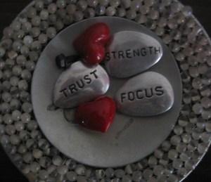 trust , focus, strength