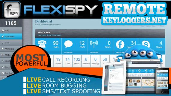 FlexiSpy Keylogger for iPhone