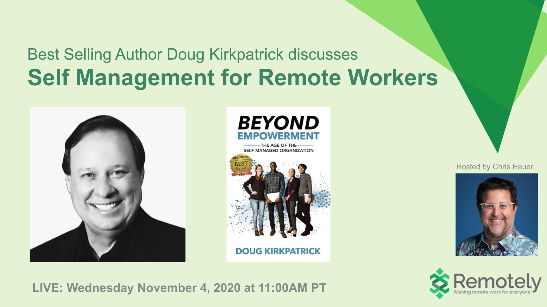 Doug Kirkpatrick - Self Management for Remote Workers