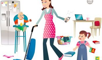 working mom clipart