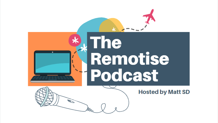 the remotise podcast logo