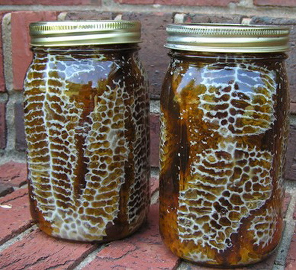 how to easily make a beehive in a jar diy_3
