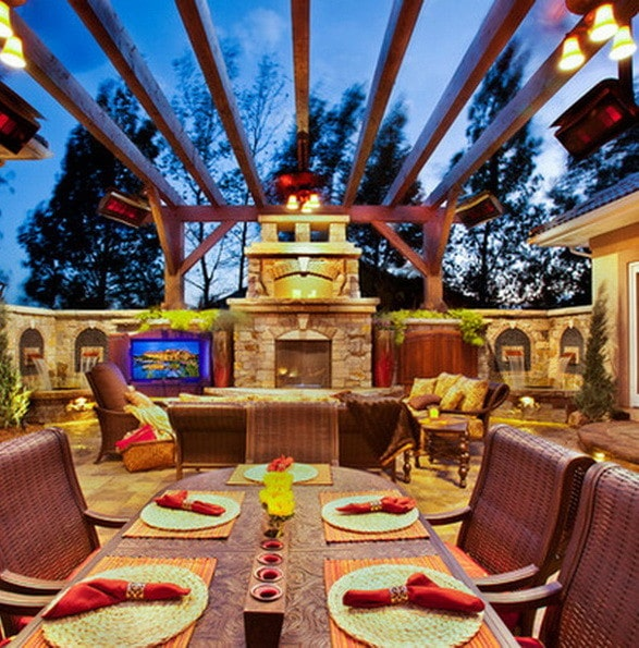 61 Backyard Patio Ideas - Pictures Of Patios ... on Cool Backyard Patio Ideas id=67605