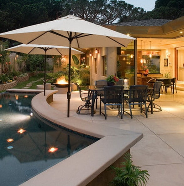 61 Backyard Patio Ideas - Pictures Of Patios ... on Patio With Deck Ideas id=14782
