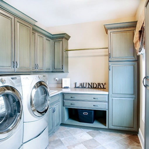 82 Laundry Room Ideas - Ways To Organize Your Laundry Room ... on Laundry Room Cabinet Ideas  id=74253