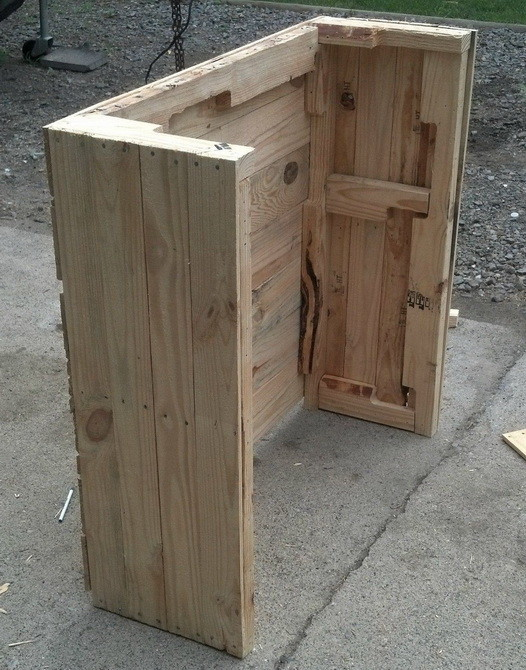 How To Make Cabinet Doors From Pallet Wood
