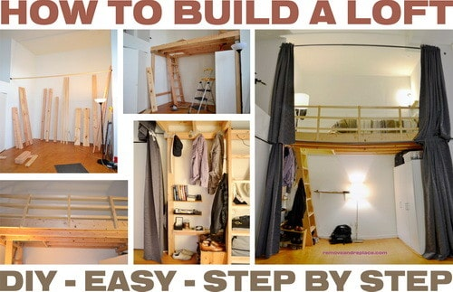 Build Your Own Garage Storage Loft