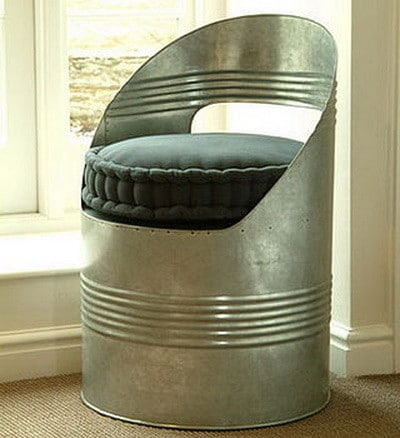 36 Recycled Scrap Metal Into Furniture Project Ideas