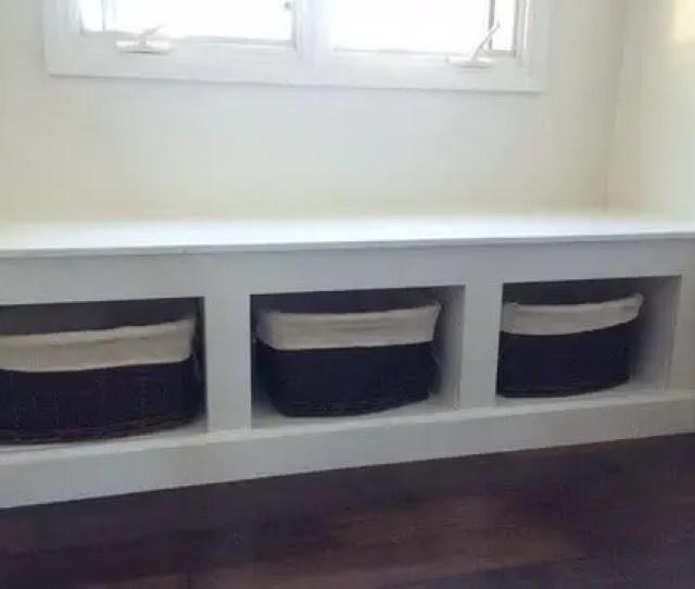 Diy Wooden Window Bench_