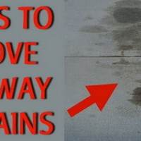 5 Ways To Remove Oil Stains From A Driveway