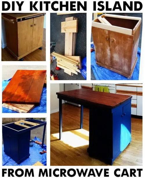 Kitchen Island Turn Desk