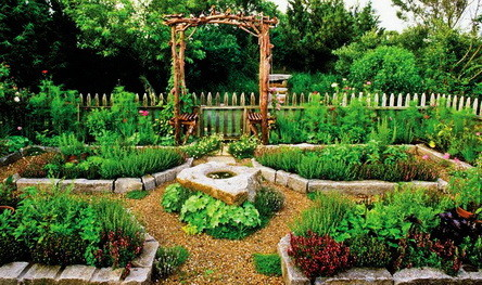 55 Great Garden Layout Ideas - Backyard Gardens ... on Backyard Patio Layout id=83050