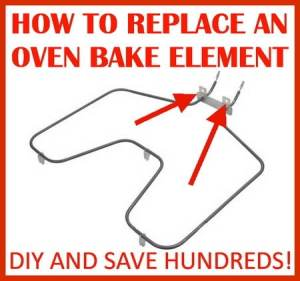 How To Replace An Oven Heating Element | RemoveandReplace