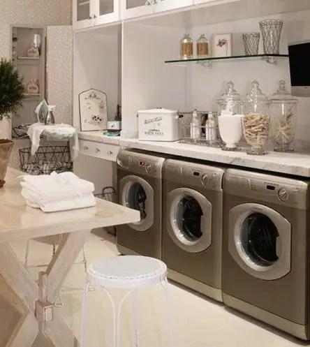 30 Laundry Room Storage & Decorating Ideas ... on Laundry Decoration  id=81787