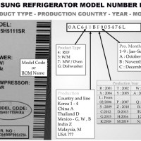 Samsung Refrigerator Error Fault Codes - How To Reset