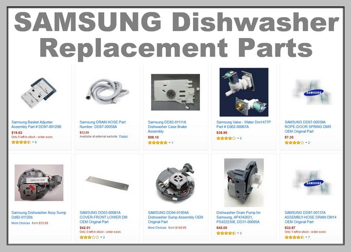 Samsung Dishwasher Flashing Light Error Codes