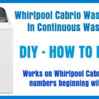 How To Reset A Whirlpool Cabrio Washing Machine