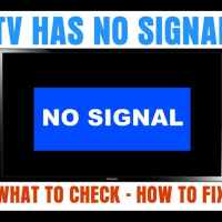 TV Says NO SIGNAL - What To Check - How To Fix
