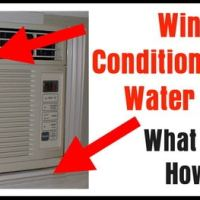 Window Air Conditioner Leaking Water Into House - What To Check - How To Fix