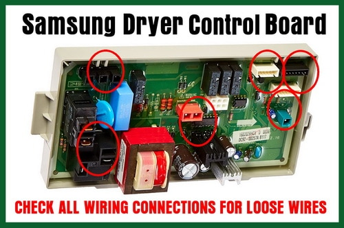 Samsung dryer control board E3 Error Code Check wires for loose connections?ssl=1 samsung dryer error code e3 how to clear? what to check  at bakdesigns.co