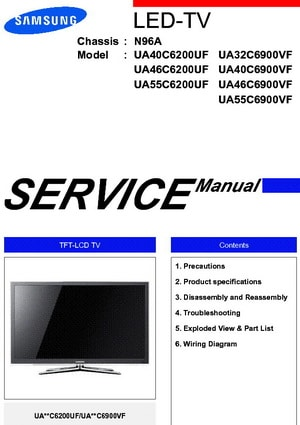 TV Service Repair Manuals  Schematics and Diagrams