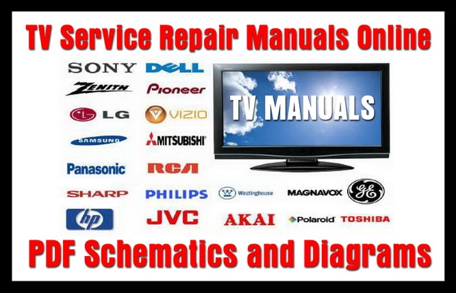 Tv Service Repair Manuals Pdf Schematics And Diagrams