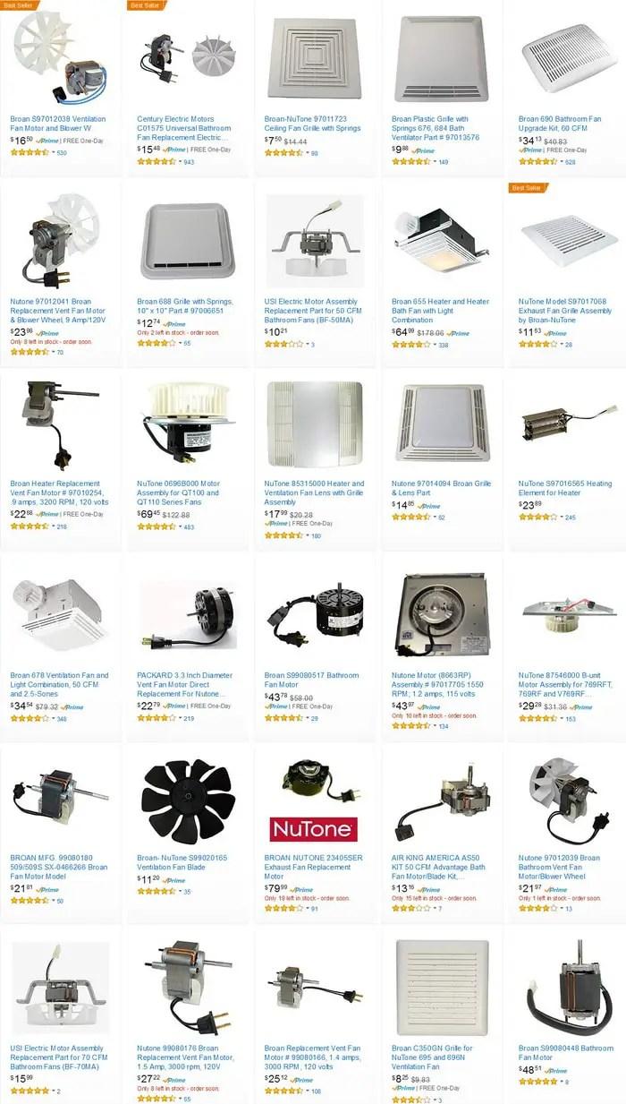 bathroom exhaust fan noise image of