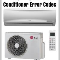 LG Split System Air Conditioner Error Codes - Troubleshooting - Maintenance