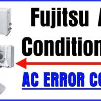 Fujitsu Air Conditioning AC Error Codes And Troubleshooting