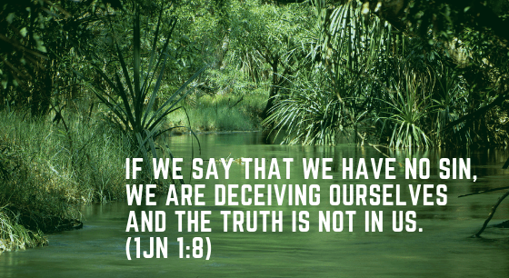 A license to sin?(1John 1:8)