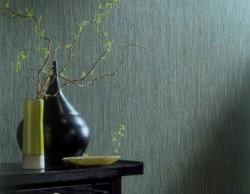 Velor wallpaper in the interior