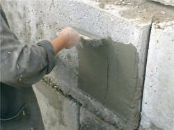 Plaster waterproofing
