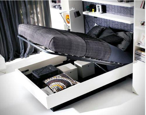 small apartment design storage