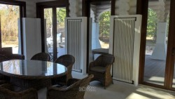 High-quality heating in a private house