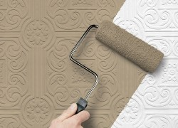 non-woven wallpaper how to paint