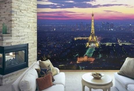mural wallpaper for living room