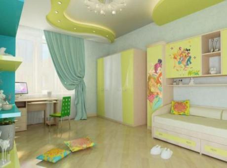 plasterboard ceilings in the nursery 3