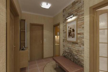 ceramic tiles in the hallway 3